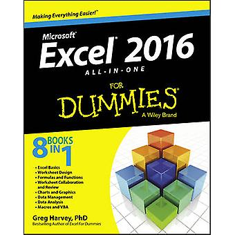 Excel 2016 All-in-One For Dummies by Greg Harvey - 9781119077152 Book