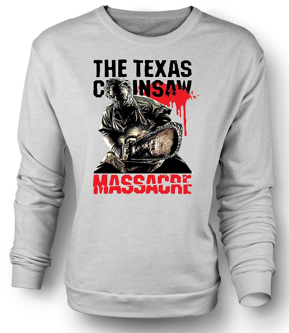 Mens Sweatshirt Texas Chainsaw Massacre - Horror