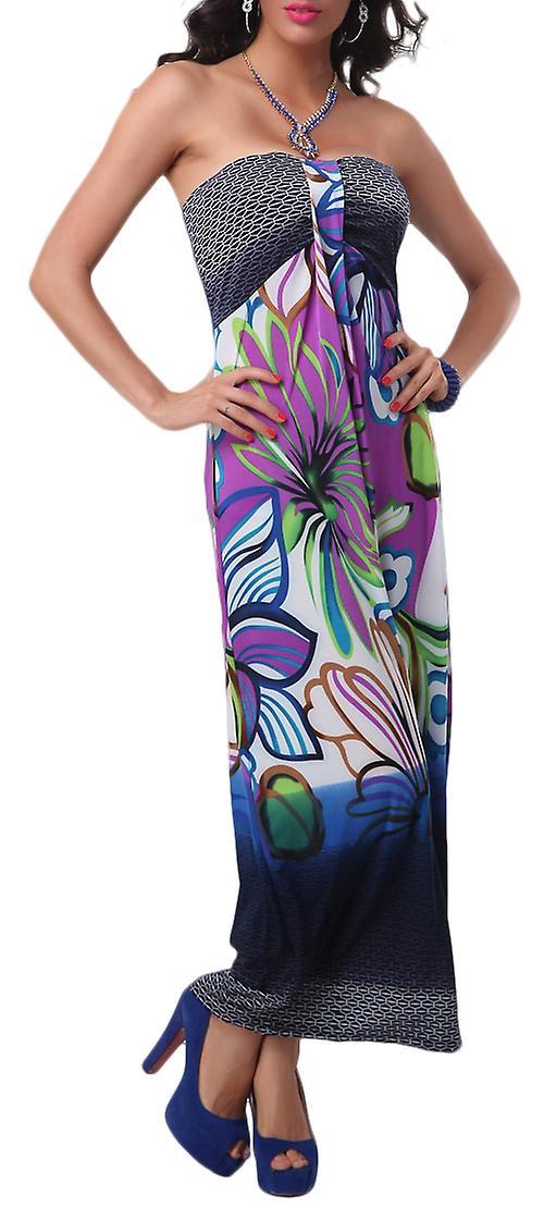 Waooh - kjole lange mønster blomster Siol