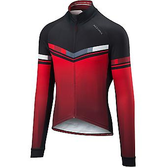 Altura Red-Black 2018 Thermo Invader Long Sleeved Cycling Jersey
