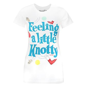 Goodie Two Sleeves Twister Feeling Knotty Women's T-Shirt White