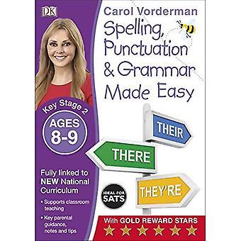 Gjorde lätt stavning, interpunktion och grammatik (KS2) (engelska gjord lätt)