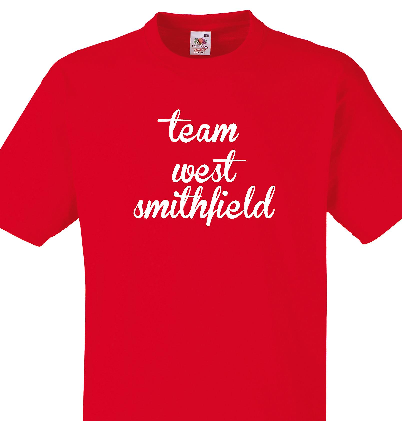 Team West smithfield Red T shirt