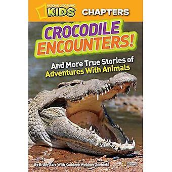 National Geographic Kids Kapitel: Krokodil begegnet: und mehr wahre Geschichten von Abenteuer mit Tieren