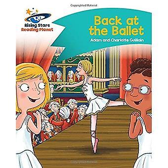 Lecture de planète - retour au Ballet - Turquoise