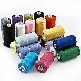 Polyester Sewing Thread for Sewing Machines 20x 500 M