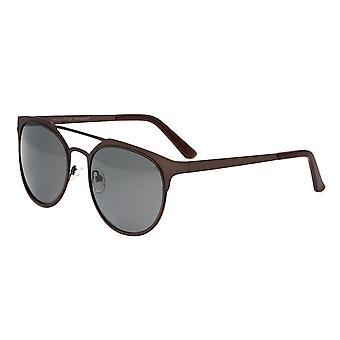 Breed Mensa Titanium Polarized Sunglasses - Brown/Black