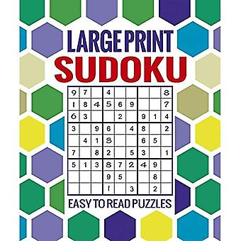 Large Print Sudoku: Easy to Read Puzzles