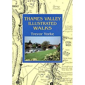 Thames Valley Illustrated Walks (Walking Guide)