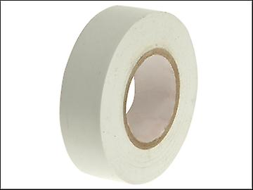Faithfull PVC Electrical Tape White 19mm x 20m