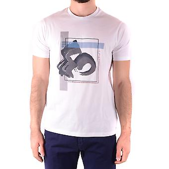 Emporio Armani White Cotton T-shirt