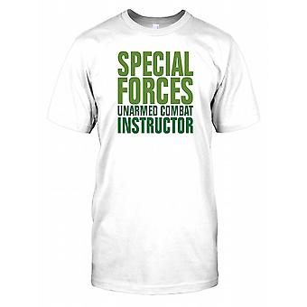 Special Forces Unarmed Combat Instructor Mens T Shirt