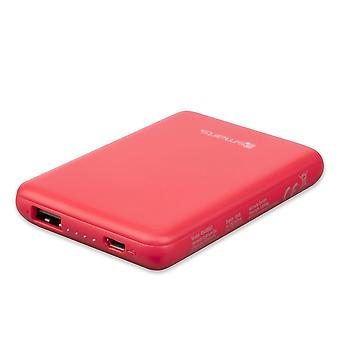 4smarts Powerbank VoltHub go 5000 mAh red charging Electric USB cable accessory