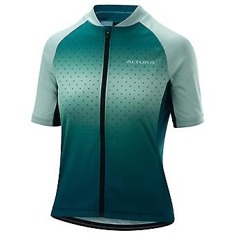 Altura Teal-Blue 2019 Airstream Womens Short Sleeved Cycling Jersey