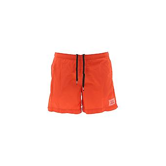 C.p. Company Red Nylon Trunks
