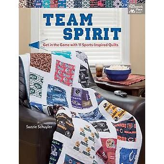 Team Spirit - Get in the Game with 11 Sports-Inspired Quilts by Suzzan