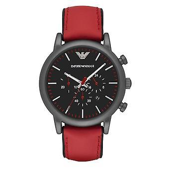 Emporio Armani Ar1971 Luigi Chronograph Black Dial Men's Watch