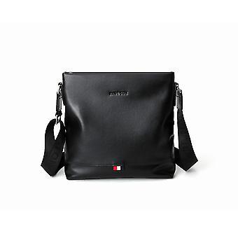 Black Portrait Messenger Bag 12.5