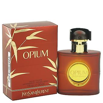 OPIUM av Yves Saint Laurent Eau De Toilette Spray (ny emballasje) 1 oz/30 ml (kvinner)