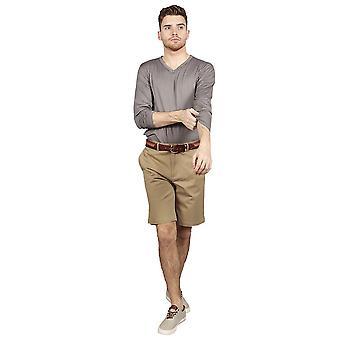 Slim fit chino shorts – classic khaki