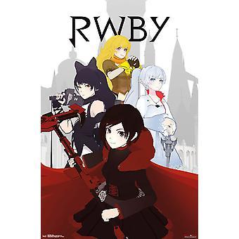 Poster - Studio B - RWBY - Group 36x24