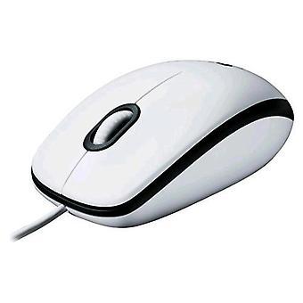 Logitech m100 mouse usb 1000dpi color white
