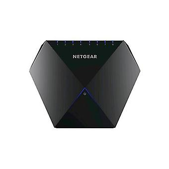 Netgear gs808e-100pes nighthawk s8000 switch with 8 gigabit ports for gaming and advanced black color streaming