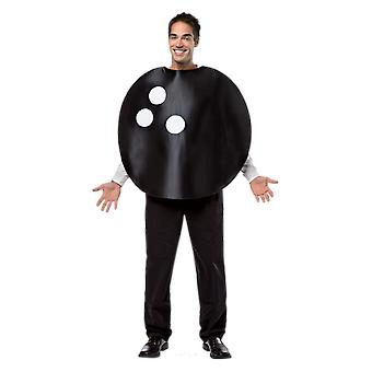 Adult Bowling Ball Game Sport Novelty Funny Fancy Dress Costume