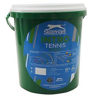 Slazenger Unisex Stufe 1 Tennis Ball Eimer