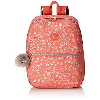 Kipling EMERY Backpack - 42 cm - 22 liters - Multicolor (Hearty Pink Met)
