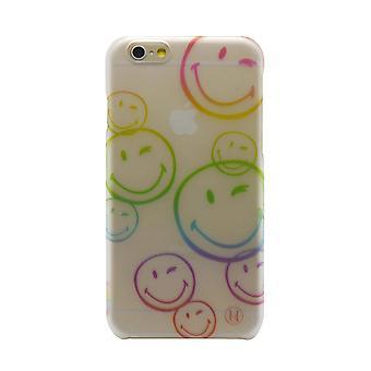 X Smiley iPhone 6 Ultra Slim Graphics Flexi Hard Shell