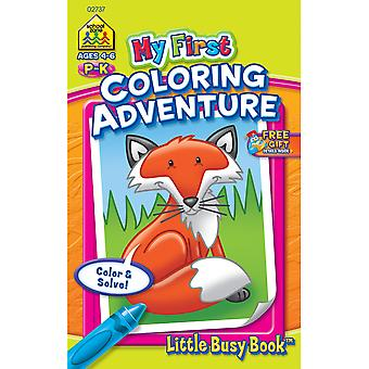 My First Little Busy Book Coloring Adventure 2737