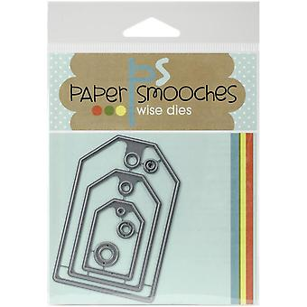 Papier Smooches sterven-Gift Tags - NOD173