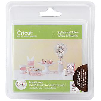 Cricut Shape Cartridge Sophisticated Soirees By Anna Griffin 2002445