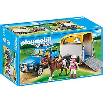 Playmobil 5223 Vehicle With Trailer