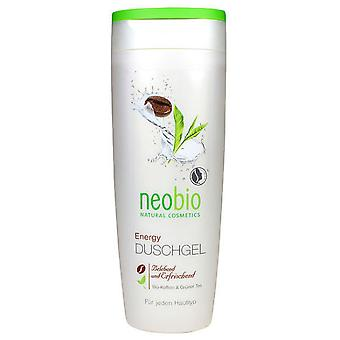 Neobio Energy Shower Gel Caffeine & Green Tea