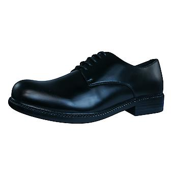 On and Off Mens Lace Up Shoes - Black