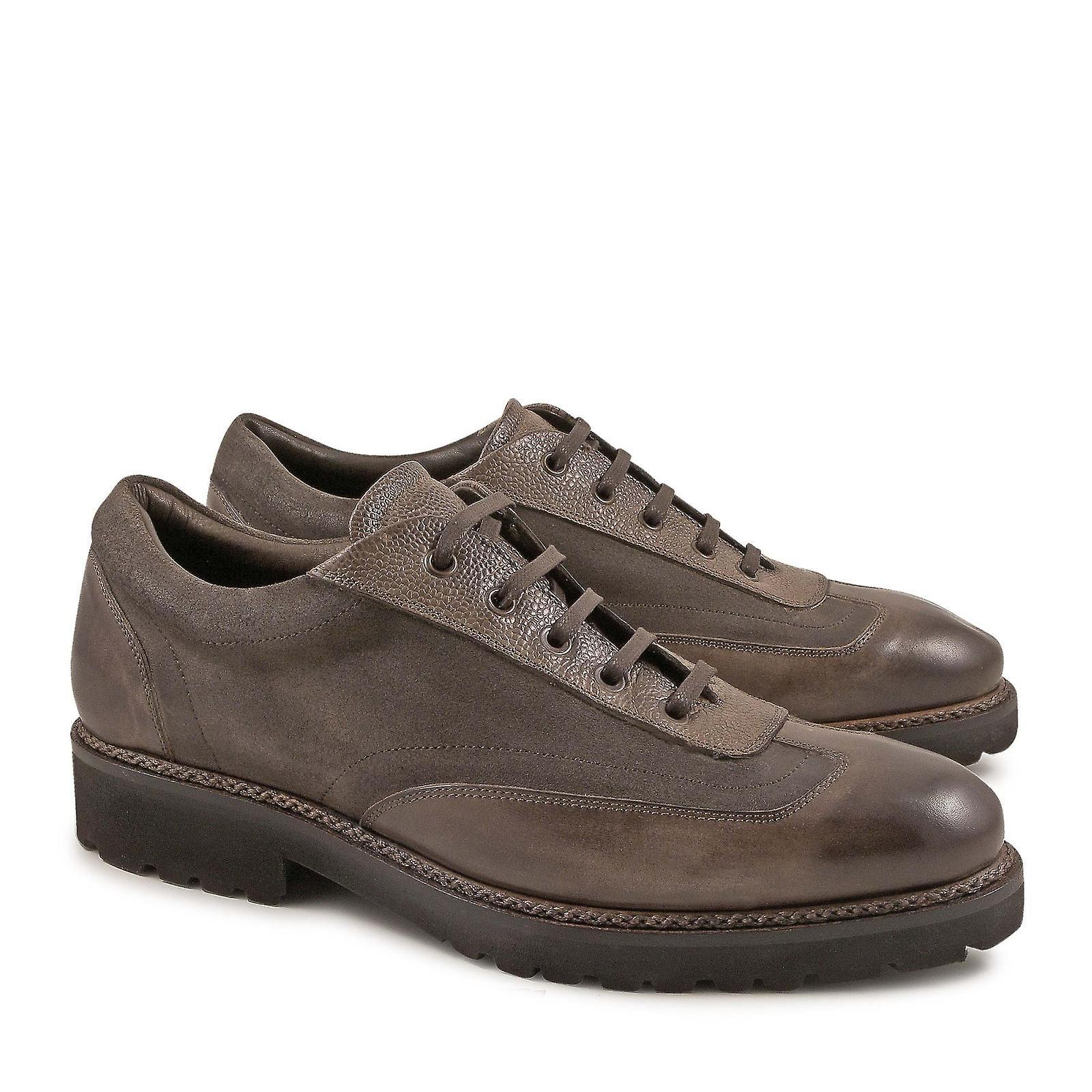 Sneaker Taupe Santoni 6b277b