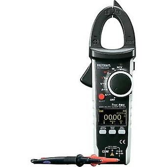 Current clamp, Handheld multimeter digital VOLTCRAFT VC590 OLED Calibrated to: ISO standards OLED display CAT III 600 V,