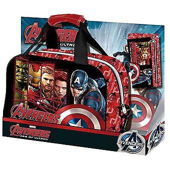 Import Bag Sport Pack With Portatodo Plano Avengers