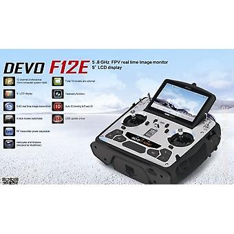 Devo F12E 2,4 Ghz 12 ch FPV 5,8GHz, hellen Bildschirm