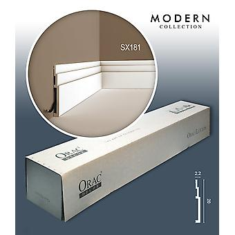 ORAC decor SX181 MODERN 1 box SET with 7 skirtings mouldings | 14 m