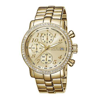 ESPRIT collection ladies watch bracelet watch of Pontess stainless steel gold EL190322009