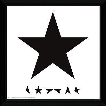 David Bowie Blackstar emolduradas imprimir álbum