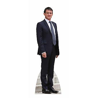 Manuel Valls Lifesize kartonnen uitsnede / Standee / opstaan