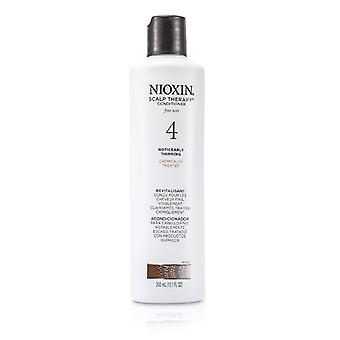 Nioxin System 4 Scalp Therapy Conditioner For Fine Hair, Chemically Treated, Noticeably Thinning Hair 300ml/10.1oz
