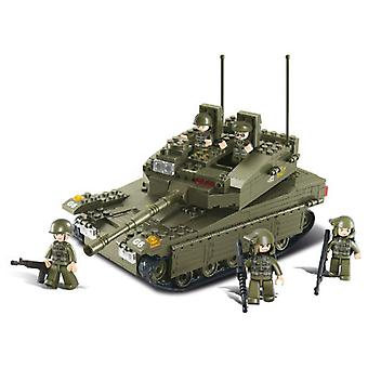 Sluban Army Tank Merkava Lf 344 Parts (Toys , Constructions , Vehicles)