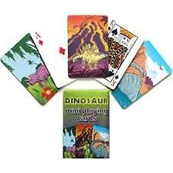 Dinosaur playing cards - mini size