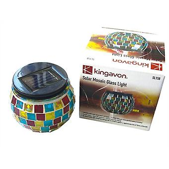 Solar Mosaic Glass Light