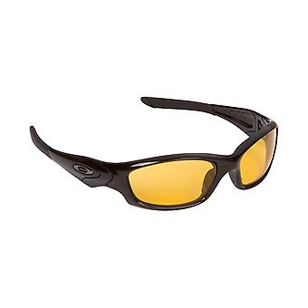 Best SEEK Replacement Lenses for Oakley STRAIGHT JACKET Black HI Yellow